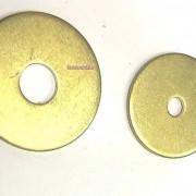 Inch Fender Washer Brass