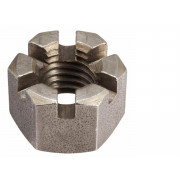 UNF Slotted Hexagon Thick Nut Steel BS1768 T3TH