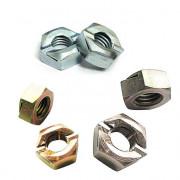 Metric Coarse Binx Nut Steel Zinc Plated