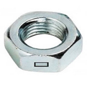 Metric Coarse Centre Locking Thin Jam Nut Steel class 4