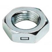 Metric Coarse Centre Locking Thin Jam Nut Steel class 4