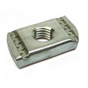 Metric course channel nut NP no spring