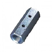 Metric Coarse Hexagon Turnbuckle Body Steel DIN1479