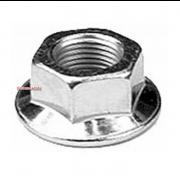 Metric Coarse Knurled Flange Nut Steel DIN193