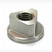 Metric Coarse Triangular Head Nut with Collar Steel DIN22425