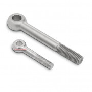 Metric Coarse Eye Bolt Forged No Shoulder Stainless Steel Grade-A4 DIN444A