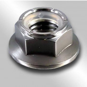 Metric Fine pitch Nylon Insert Flange Self Locking Nut Class-10 DIN6926