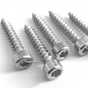 Metric Coarse Socket Cap Screw for Chipboard  Steel DIN7505