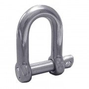Metric D Shackles Steel DIN82102