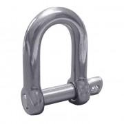 Metric D Shackles Steel DIN82102