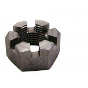 UNC Slotted Hexagon Nut Steel BS1768 T3