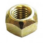 Metric Coarse All Metal Self Locking Nut Brass DIN980v Stover type