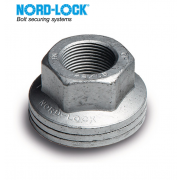 Metric Coarse Nord-Lock All Metal Self-Locking Nut