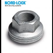 Metric Coarse Nord-Lock All Metal Self-Locking Nut