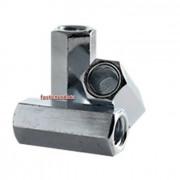 Metric Coarse Reducing Coupling Nut Steel