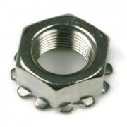 Metric Coarse Keps Lock Nut Stainless-Steel