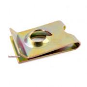 Metric Coarse U' Spring Nut Spring-Steel
