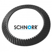 Schnorr Metric Conical Ribbed Locking Washer S Light Steel C60S