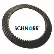 Schnorr Metric Conical Ribbed Locking Washer VS Medium Steel C60S
