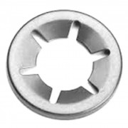 Metric Starlock Washer Uncapped Steel
