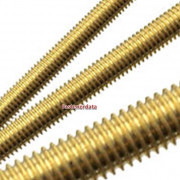 Metric Coarse Allthread Threaded Rod Brass DIN975