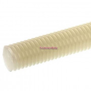 Metric Coarse Allthread Threaded Rod Nylon-66 DIN975