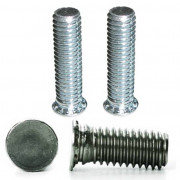 Metric Flush Round Head Self Clinching Stud Steel