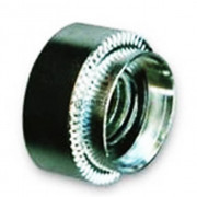 Metric Round Serrated Shoulder Rivet Bushes Steel