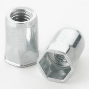 Blind Rivet Nut Small Head Half Hexagon Steel