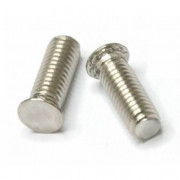 Metric Flush Round Head Self Clinching Stud 300 Stainless Steel
