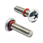 Metric Coarse Seal Screw Phillips Pan Head