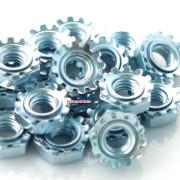 Unc Inch Keps Lock Nut Steel