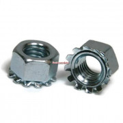 Unc Inch Keps Lock Nut Stainless steel