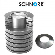 Schnorr Metric Conical Disc Springs Spring-Steel DIN2093 35.5 to 90mm