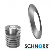 Schnorr Metric Conical Disc Springs Spring-Steel DIN2093 100mm & over