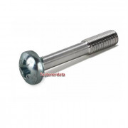 Metric Coarse Reduced Shank Pozi Pan Head Machine Screw Steel DIN7964C