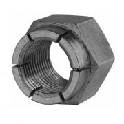 Metric Coarse Flexloc Nut Full Height Steel