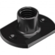 Metric Coarse Tee Nut Slab Base 2 Under Weld Pips Mild Steel