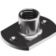 Metric Coarse Tee Nut Slab Base 2 Under Weld Pips Stainless-Steel