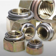 Metric Coarse Vargal Locking Nut Thin Class-8