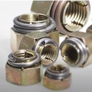 Metric Coarse Vargal Locking Nut Thin Class-8