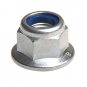 Metric Coarse Nylon Insert Flange Self Locking Nut Class-8 DIN6926