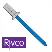 Rivco Sealed Rivet Countersunk Head Aluminium Body Steel Mandrel AKSEAL