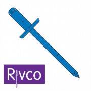 Rivco Blind Rivet Large Flange Steel Body Steel Mandrel SF