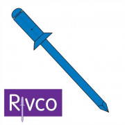 Rivco Blind Rivet Countersunk Head Steel Body Steel Mandrel SKS