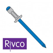Rivco Multigrip Rivet Dome Head Aluminium Body Steel Mandrel ADM