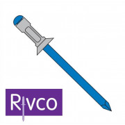 Rivco Multigrip Rivet Countersunk Head Aluminium Body Steel Mandrel AKM