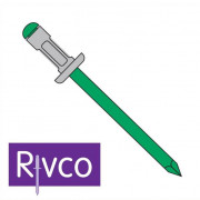 Rivco Multigrip Rivet Domed Head Aluminium Body Stainless Steel Mandrel ADMSS
