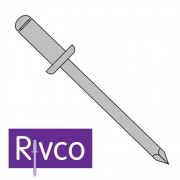 Rivco Blind Rivet Domed Head Aluminium Body Aluminium Mandrel ADA