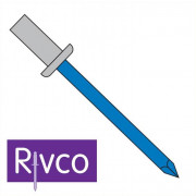 Rivco Sealed Rivet Dome Head Aluminium Body Steel Mandrel ADSEAL